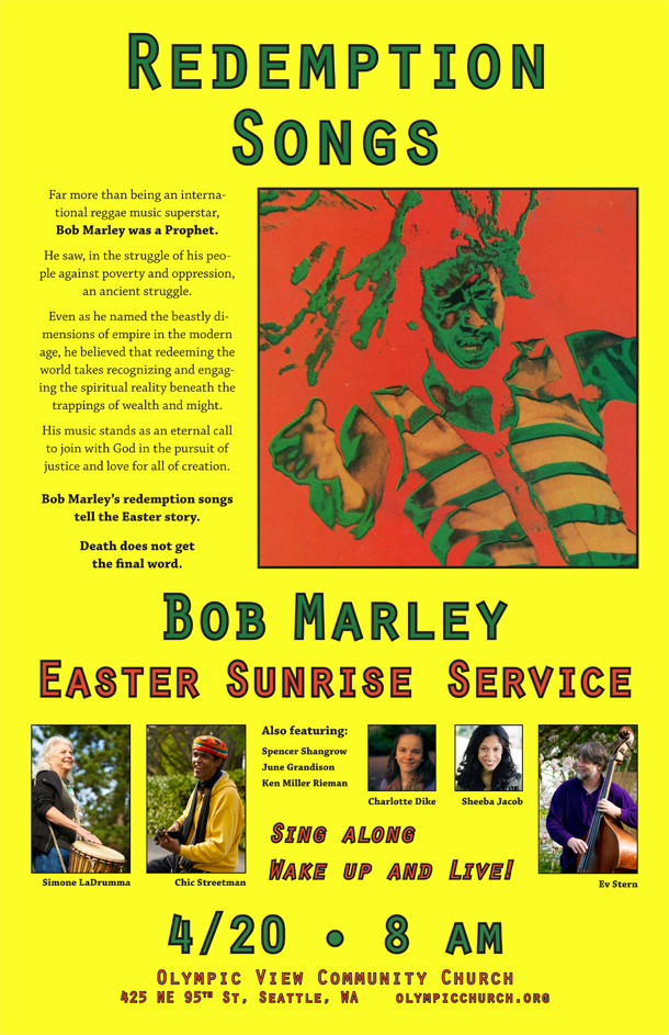 Bob Marley Easter Sunrise 2014K thumb